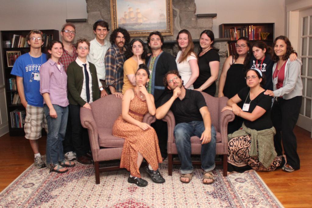 Zeitler Fellows at the National Havhurah Committee NHC Summer Institute