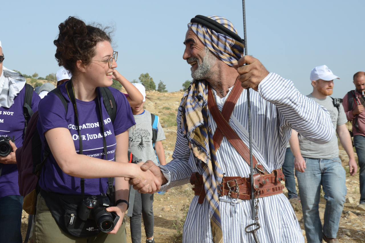PHOTOS: 300+ Diaspora Jews take historic action against occupation
