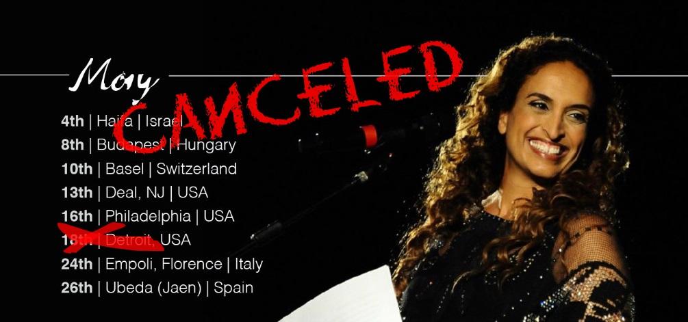 Israeli star Noa: Detroit shul canceled my concert due to threats