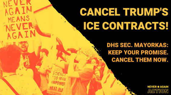 This sukkot is the time for Secretary Mayorkas to Cancel Trump's ICE-police cooperation contracts