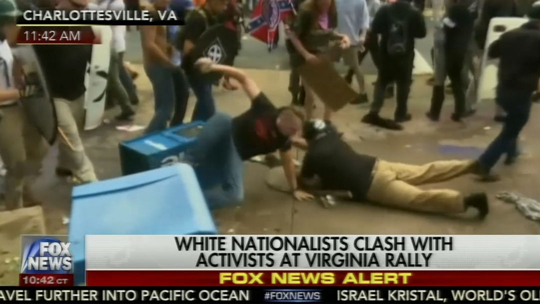 I was a medic in Charlottesville