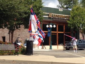 Confederate Flag Rally, photo by Lex Rofes