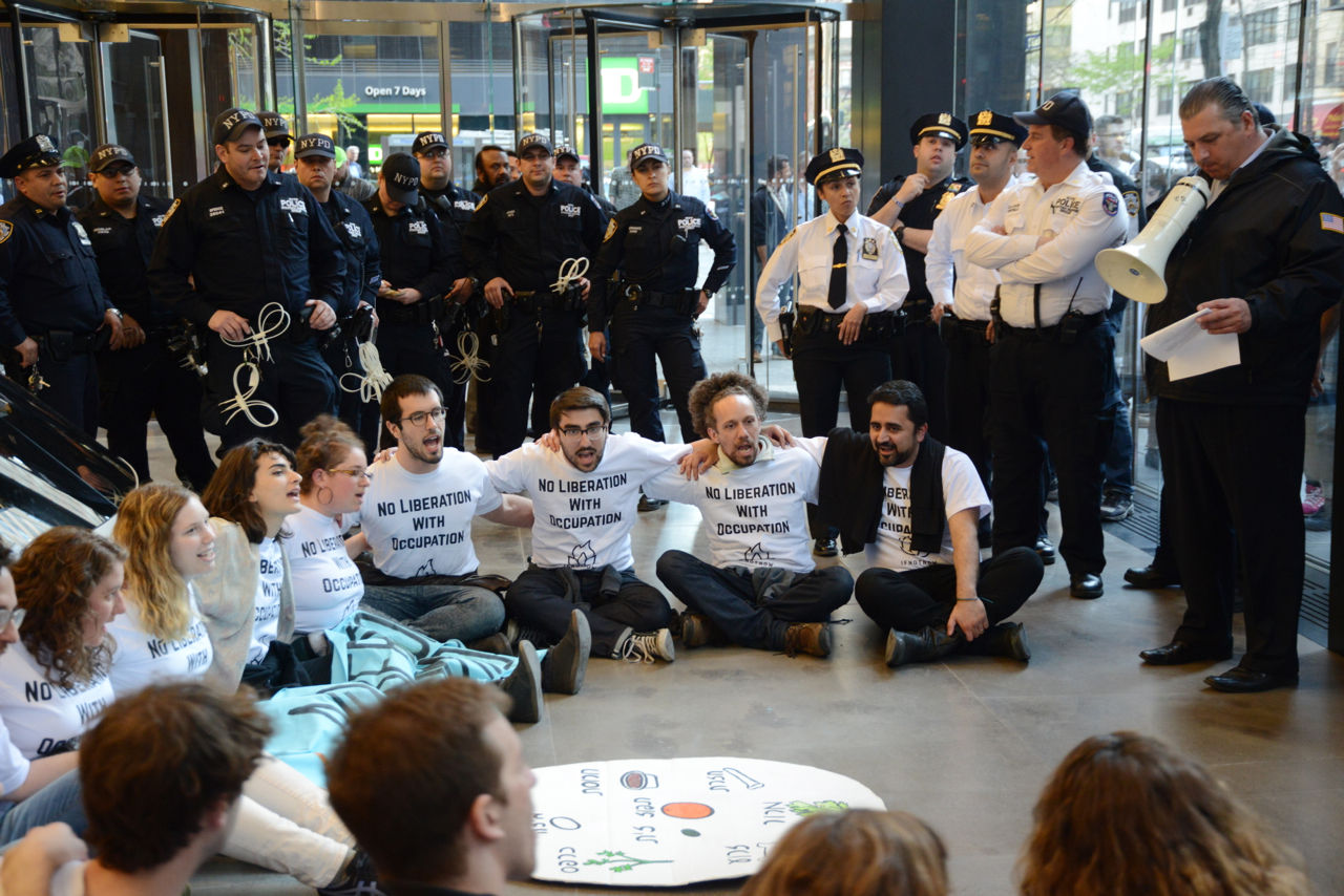 #IfNotNow #LiberationSeder Protests and Arrests Across the Country