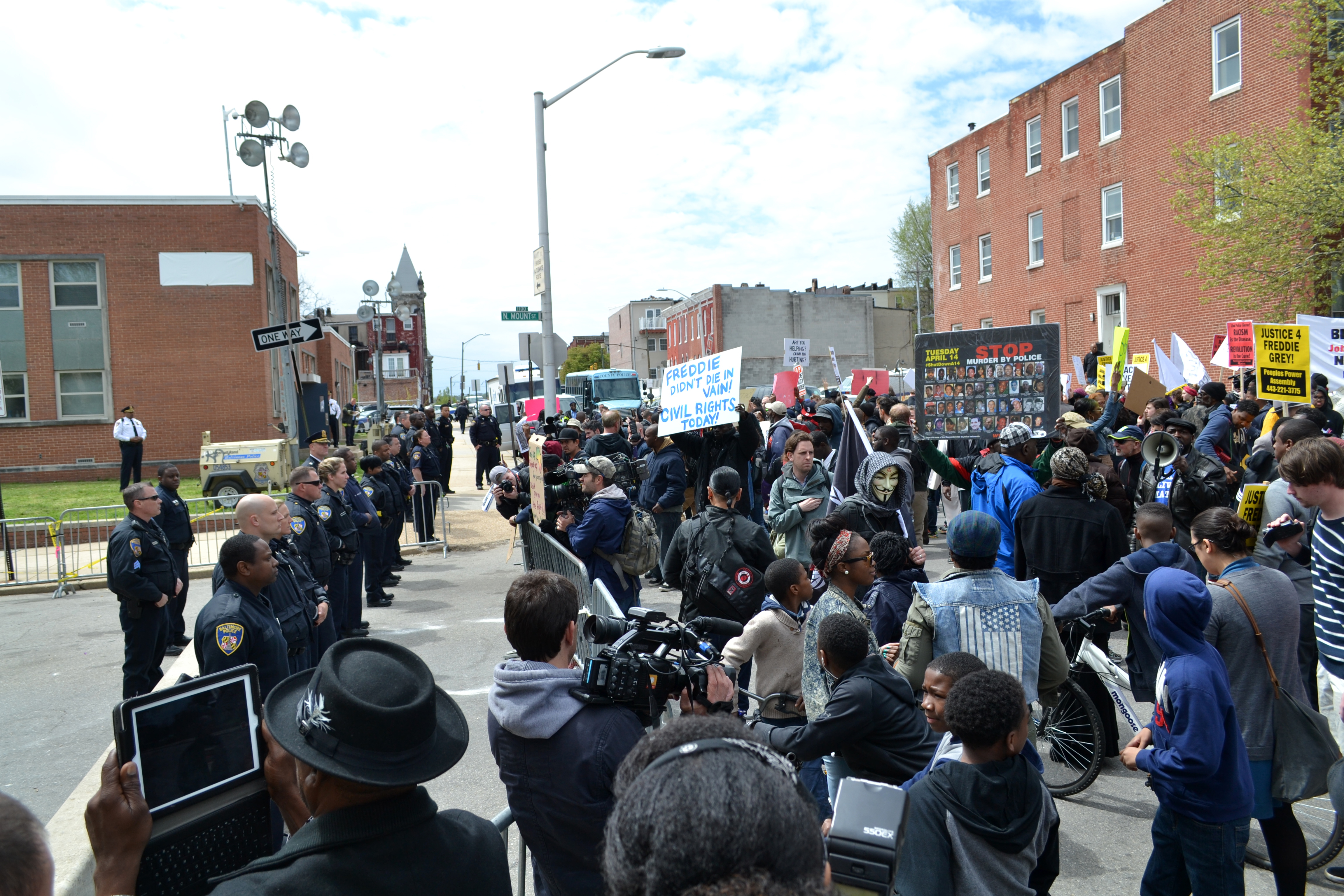 On Power and Violence (Baltimore, for example)