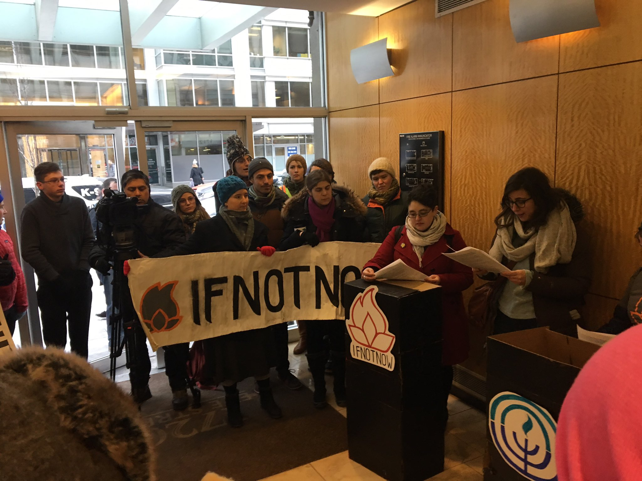 IfNotNow Builds the Community We Need Through Protest
