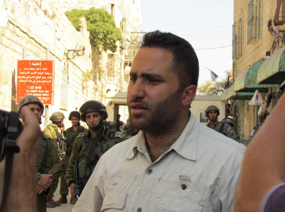 Palestinian Gandhi Issa Amro facing Trumped up Charges