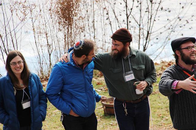 Jewish Intentional Communities Conference cosponsors: Adamah, Teva, Repair the World, Pearlstone Center, Moishe House, Avodah, Yahel, Habonim Dror
