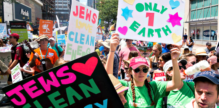 Nearly 500 Jewish Leaders Commit to the Paris Accord