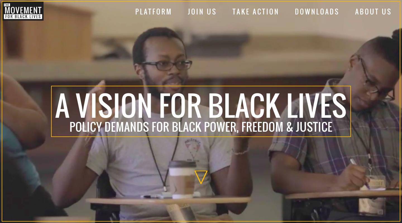 Pursuing Justice and the #BlackLivesMatter Platform