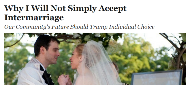 What If They Said White Instead of Intermarriage?