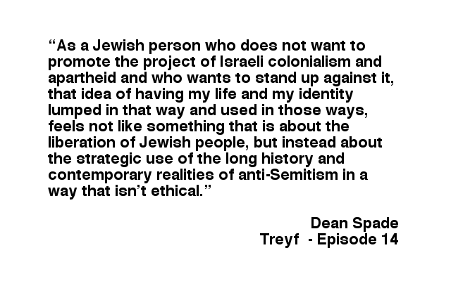 Treyf Podcast 14 – Resisting Pinkwashing with Dean Spade