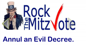 Primary Elections this week – ROCK THE MITZVOTE!