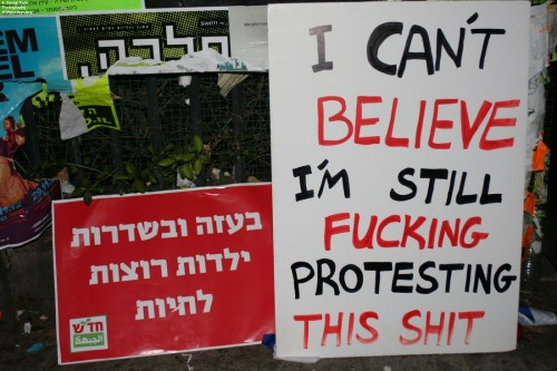 Why so silent on peace negotiations, Israeli left?
