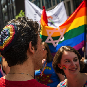 I'm a queer Jewish student. Is my acceptance in organized Jewish communities conditional?