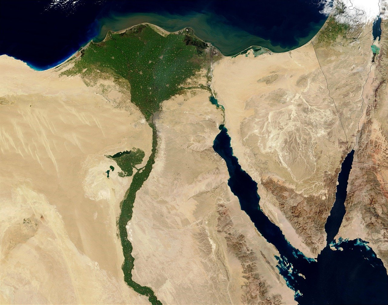 Egypt Seen From Above