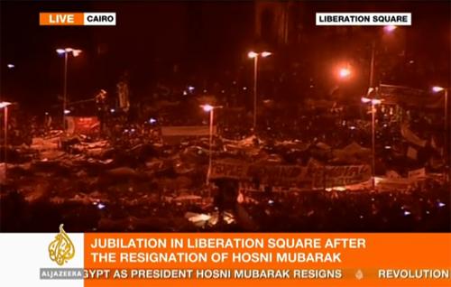 Mubarak resigns, Egypt rejoices