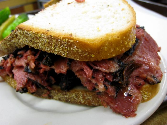 Anatomy of a Pastrami Sandwich