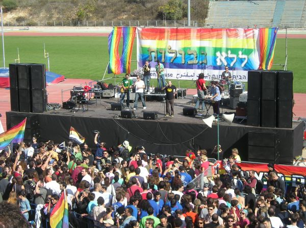 Gay Rights Rally Draws Thousands