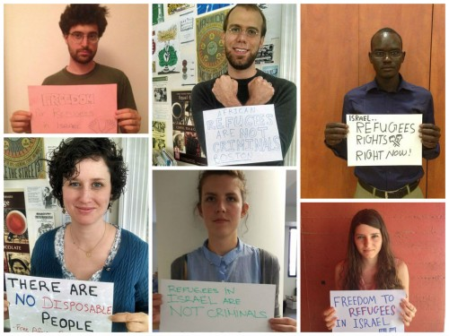 Speak up for asylum seekers in Israel on World Refugee Day
