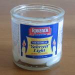 Fun with yahrzeit candles